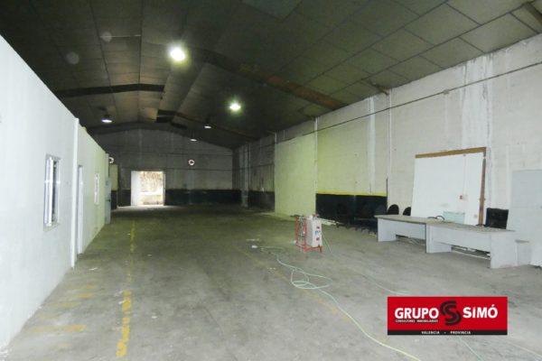 NAVE INDUSTRIAL EN RIBARROJA DEL TURIA - Ref. ER-505
